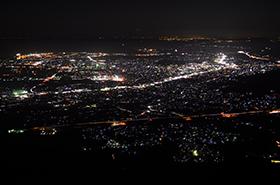 大平山の夜景サムネ
