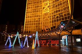 海峡ゆめタワーの夜景サムネ
