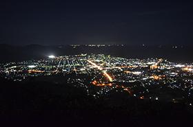 田床山の夜景サムネ