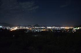 陶芸の村の夜景サムネ