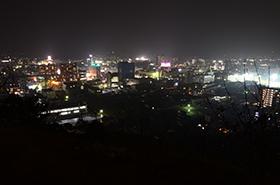 桑山公園の夜景サムネ