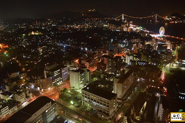 海峡ゆめタワーの夜景_04