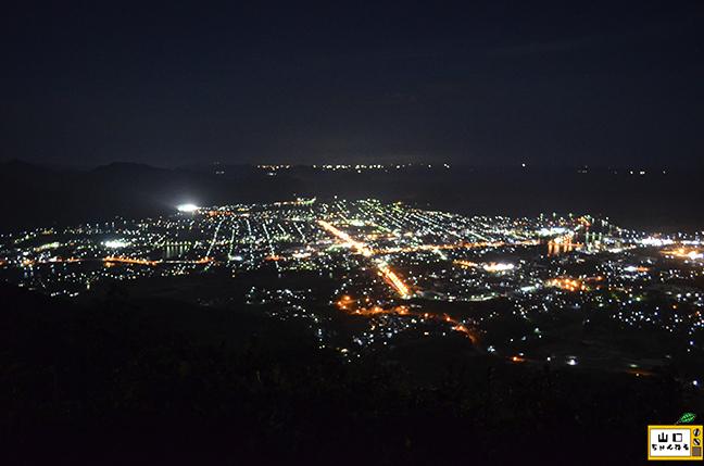 田床山の夜景_02