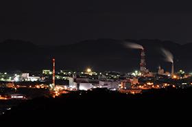 萩の平展望台の夜景サムネ