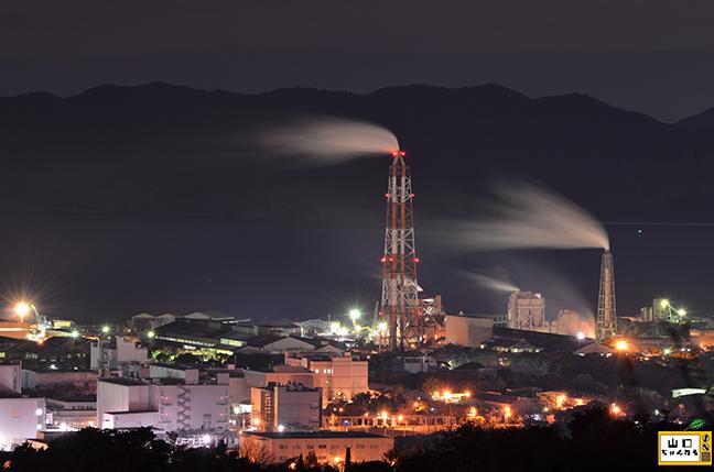 萩の平展望台の夜景_04