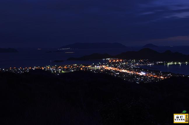 萩の平展望台の夜景_06