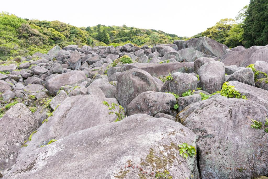 万倉の大岩郷