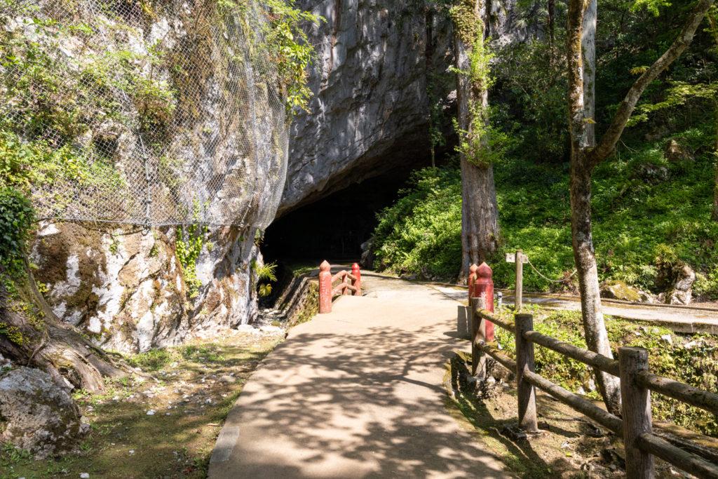 景清洞入口