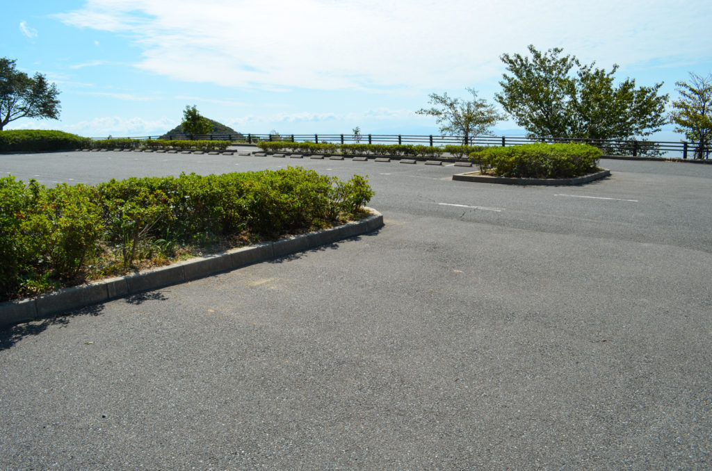 毘沙ノ鼻駐車場
