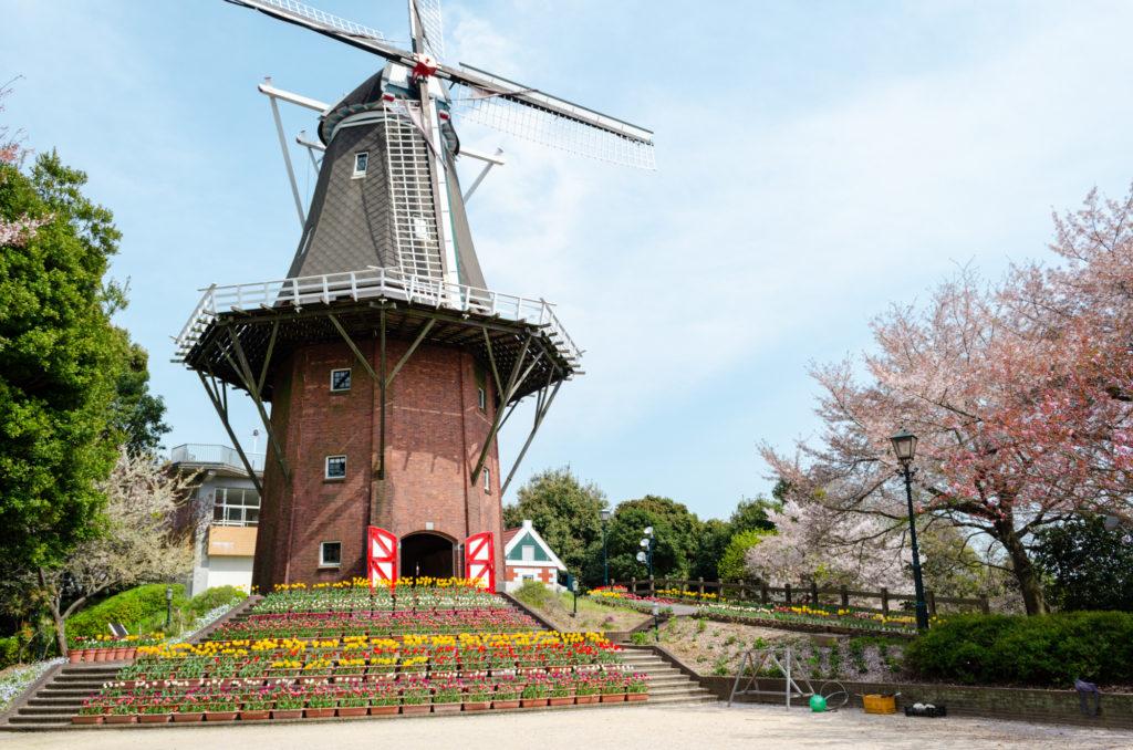 永源山ゆめ風車