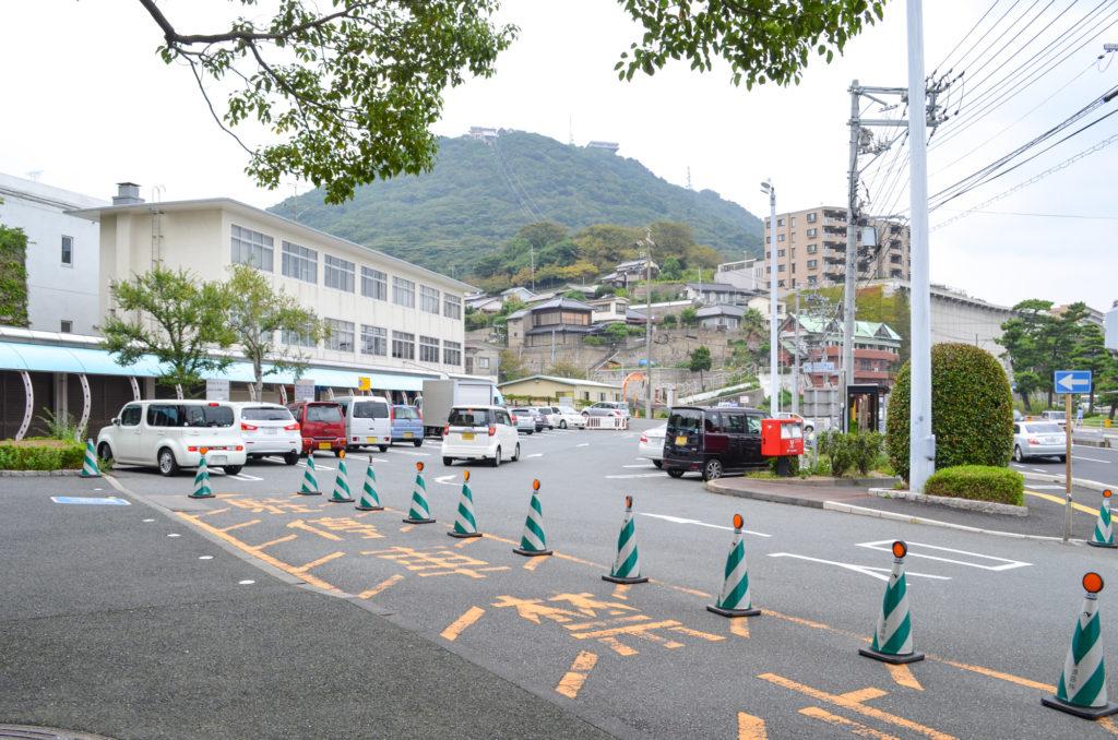 関門トンネル人道駐車場