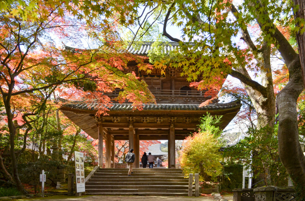 功山寺の総門