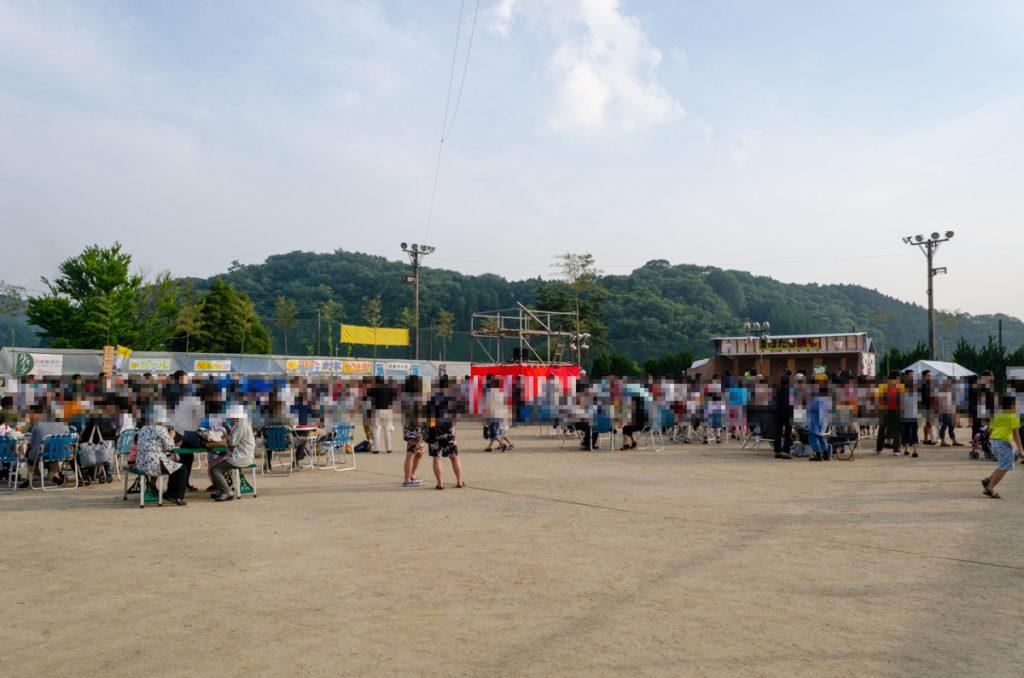 長穂ホタル祭り会場