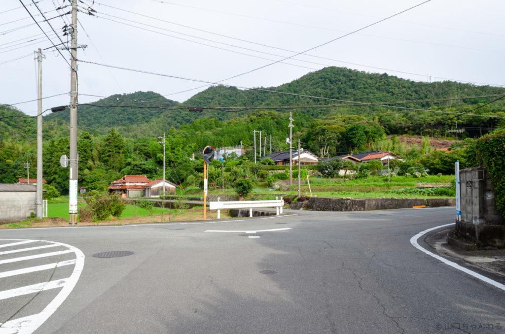 源久寺までの道